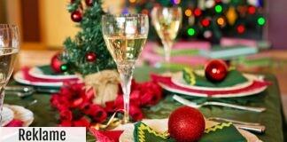 Festligt julebord