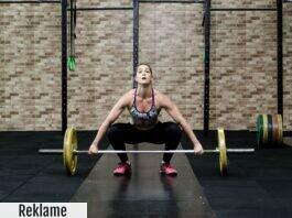 Atlet laver tungt luft